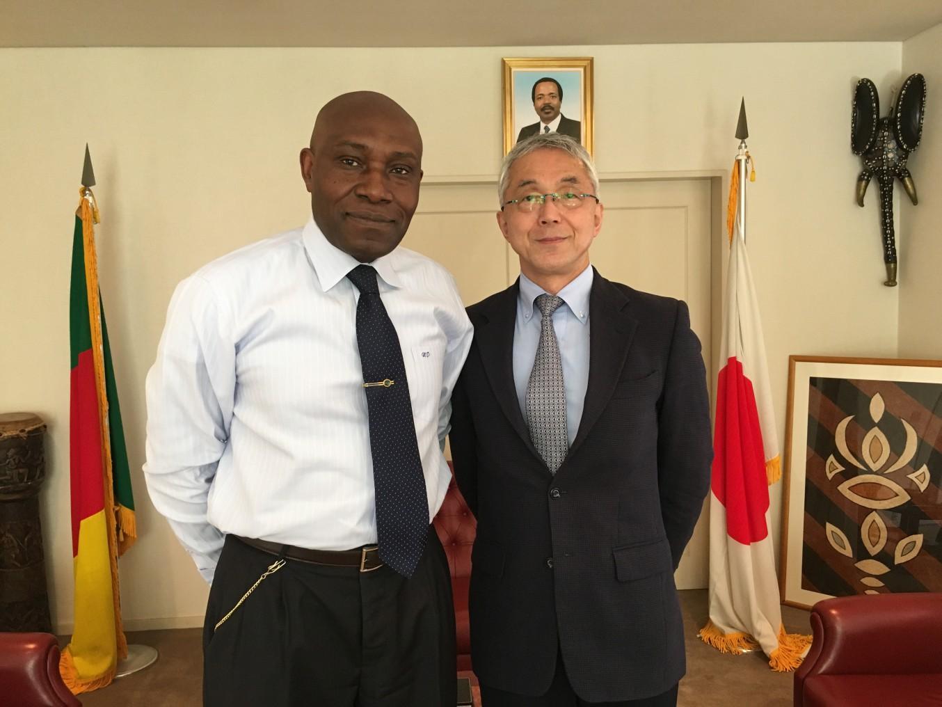 Meeting with Mr. Tada Miyakoshi from TFI on 18 May 2016